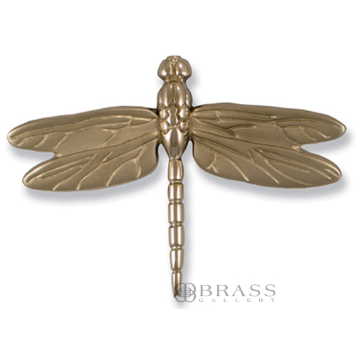 Michael healy nickel silver dragonfly door knocker brass gallery - Dragonfly door knocker ...