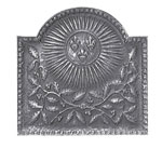 Minuteman - Natural Cast Iron Royal Sun Fireback