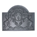 Minuteman - Black Cast Iron Lions Fireback