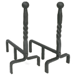 Minuteman - Ball End Fireplace Andirons