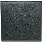 Minuteman - Black Cast Iron Hopewell Fireback