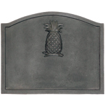 Minuteman - Black Cast Iron Pineapple Firebacks