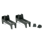 Minuteman - Black Cast Iron Fireback Feet