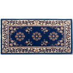 Minuteman - Rectangular Blue Oriental Fireplace Hearth Rugs