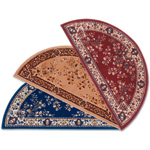 Minuteman - Half Round Oriental Fireplace Hearth Rugs