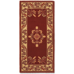 Minuteman - Rectangular Vermillion Jardin Fireplace Hearth Rugs