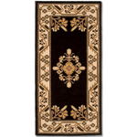 Minuteman - Rectangular Noir Jardin Fireplace Hearth Rugs