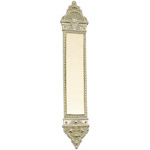 "Brass Accents - European Door Push Plate - 3"" x 16-1/4"""