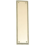 "Brass Accents - Rope Door Push Plate - 3"" x 12"""