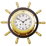 Chelsea Clock - Brass Wall Mount Pilot Limited Edition Clock