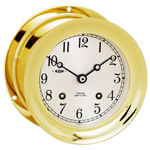 "Chelsea Clock - 6"" Brass Ship's Bell Clocks"