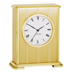 Chelsea Clock - Brass Embassy Desk Clock