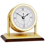 Chelsea Clock - Brass Chatham Desk Clock