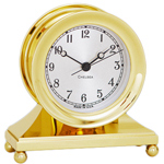 Chelsea Clock - Brass Constitution Desk Clock