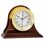 Chelsea Clock - Brass Presidential Desk Clock