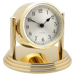 Chelsea Clock - Brass Dartmouth Desk Clock