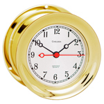 Chelsea Clock - 4 1/2&quot; Brass Shipstrike Clocks