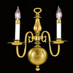 Jamestown Two Arm Sconce - Polished Brass