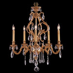 Appassionata Chandelier - Bronzed Gold Leaf