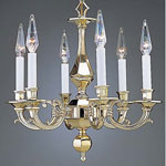 Holtkotter - Italian Cast Brass Pendant Chandelier