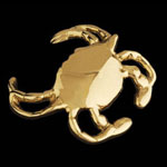 Crab Engravable Brass Bottle Opener