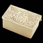 English Engravable Brass Box