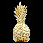 Full Pineapple Brass Bookends