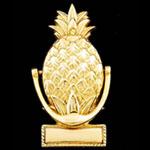 Engravable Pineapple Brass Door Knocker