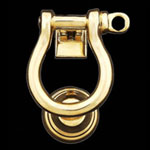 Shackle Brass Door Knocker