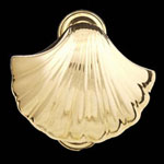 Scallop Shell Brass Door Knocker
