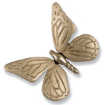 Michael Healy - Nickel Silver Butterfly Door Knocker