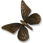 Michael Healy - Oiled Bronze Butterfly Door Knocker