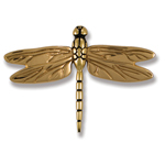 Michael Healy - Brass Dragonfly Door Knocker