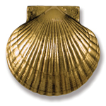 Michael Healy - Brass Sea Scallop Door Knocker