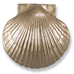 Michael Healy - Nickel Silver Sea Scallop Door Knocker