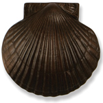Michael Healy - Oiled Bronze Sea Scallop Door Knocker