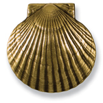 Michael Healy - Brass Bay Scallop Door Knocker