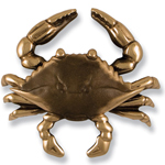 Michael Healy - Bronze Blue Crab Door Knocker