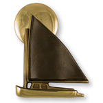 Michael Healy - Brass Catboat Door Knocker