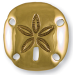 Michael Healy - Brass Sand Dollar Door Knocker