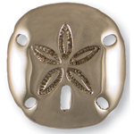 Michael Healy - Nickel Silver Sand Dollar Door Knocker