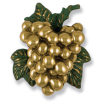 Michael Healy - Brass Grape Cluster Door Knocker