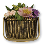 Michael Healy - Brass Nantucket Basket Door Knocker