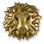 Michael Healy - Brass Lion Head Door Knocker