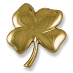 Michael Healy - Brass Four Leaf Clover Door Knocker