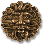 Michael Healy - Bronze North Wind Door Knocker