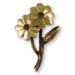 Michael Healy - Brass Black-Eyed Susan Door Knocker