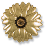 Michael Healy - Brass Sunflower Door Knocker