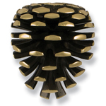 Michael Healy - Brass Pinecone Door Knocker