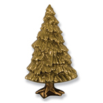 Michael Healy - Brass Fir Tree Door Knocker